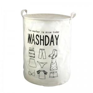 Waterproof strong laundry basket