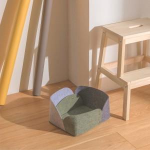 Foldable Felt Fabric Storage Bin,Organizer Box Container for Nursery Toys