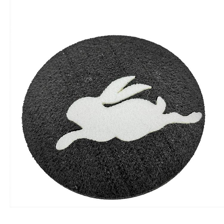 High Quality Wool Felt Material - Tabletex custom coasters wholesale cheap coasters felt cup mat – Rolking