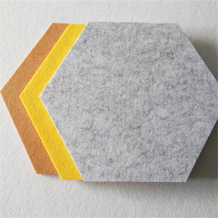 stiff polyester felt Hexagon Board for Photos,Memos Featured Image
