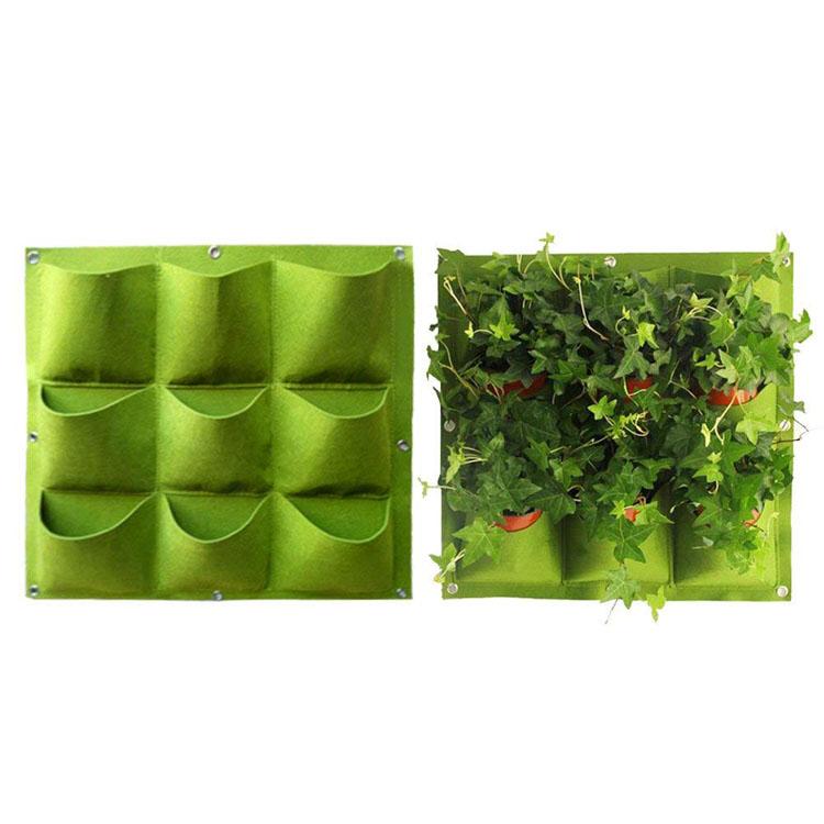Felt Wall Vertical Planter Featured Image