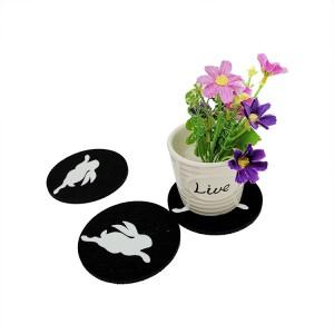 Tabletex custom coasters wholesale cheap coasters felt cup mat