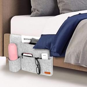 Handmade Felt Bedside Storage Organizer
