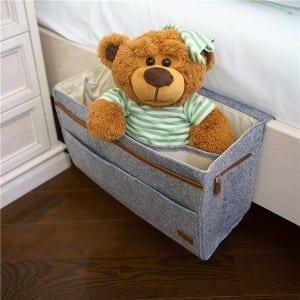 Felt bedside hanging caddy