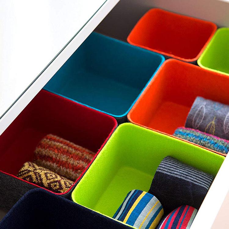 Super Purchasing for Grinder Backing Plate - Felt Drawer Organizer Bins – Rolking