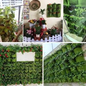Felt Wall Vertical Planter