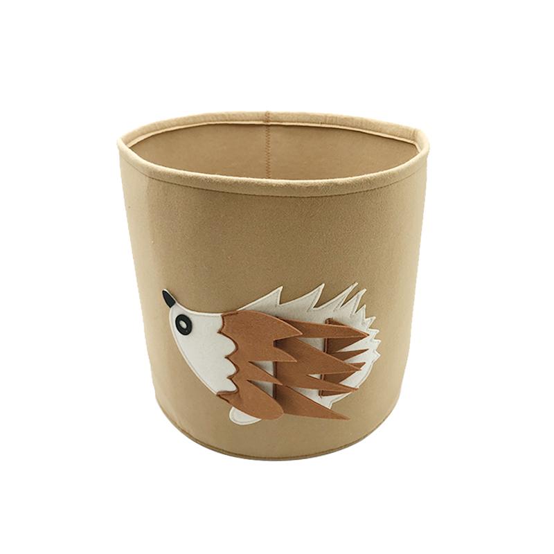 New Arrival China Basket Laundry Storage - hedgehog shape felt storage laudry basket – Rolking