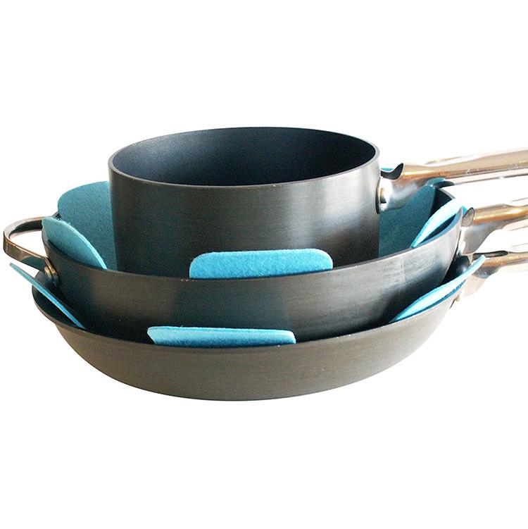 Super Lowest Price Laser Cut Felt Coasters - Pot & Pan Protectors for Kitchenware Felt Pan Divider – Rolking