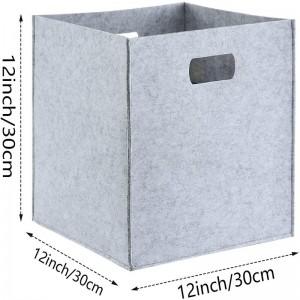 Cube storage bins baskets for cubes organizer boxes