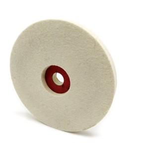 wool felt wheel felt polishing wheel for Marble