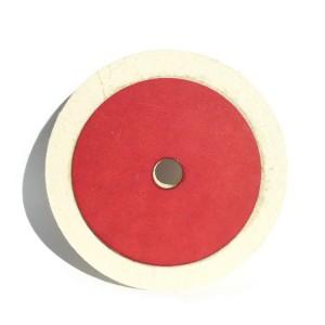 wool felt wheel buff 100% wool felt polishing wheel for Marble