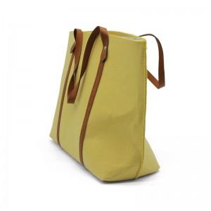 Women Shoulder Bag Felt Reusable Felt Tote Hand Bags