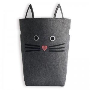 Felt Storage Basket in Animal shape 3pcs one set