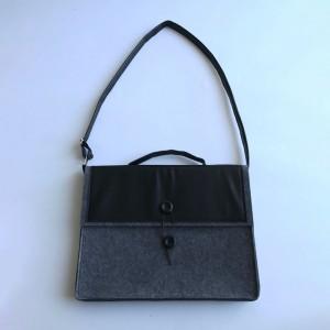 Felt PU Laptop Bag