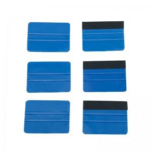 Fabric Edge Plastic Vinyl Scraper for Car