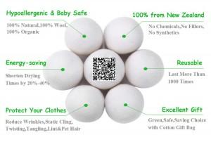Wool dryer ball 22