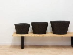 New 2019 trending product foldable felt laundry storage basket