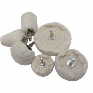 Thick Cotton White cotton cloth polishing wheel set