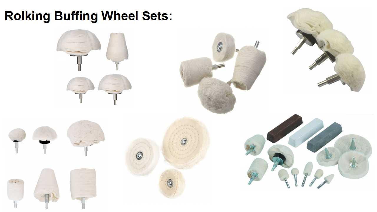 buffing wheel sets