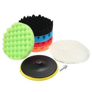 8pcs pack wool foam polishing pads for car