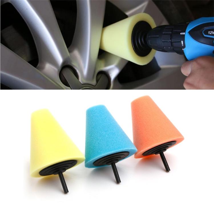 cone polishing pad (25)