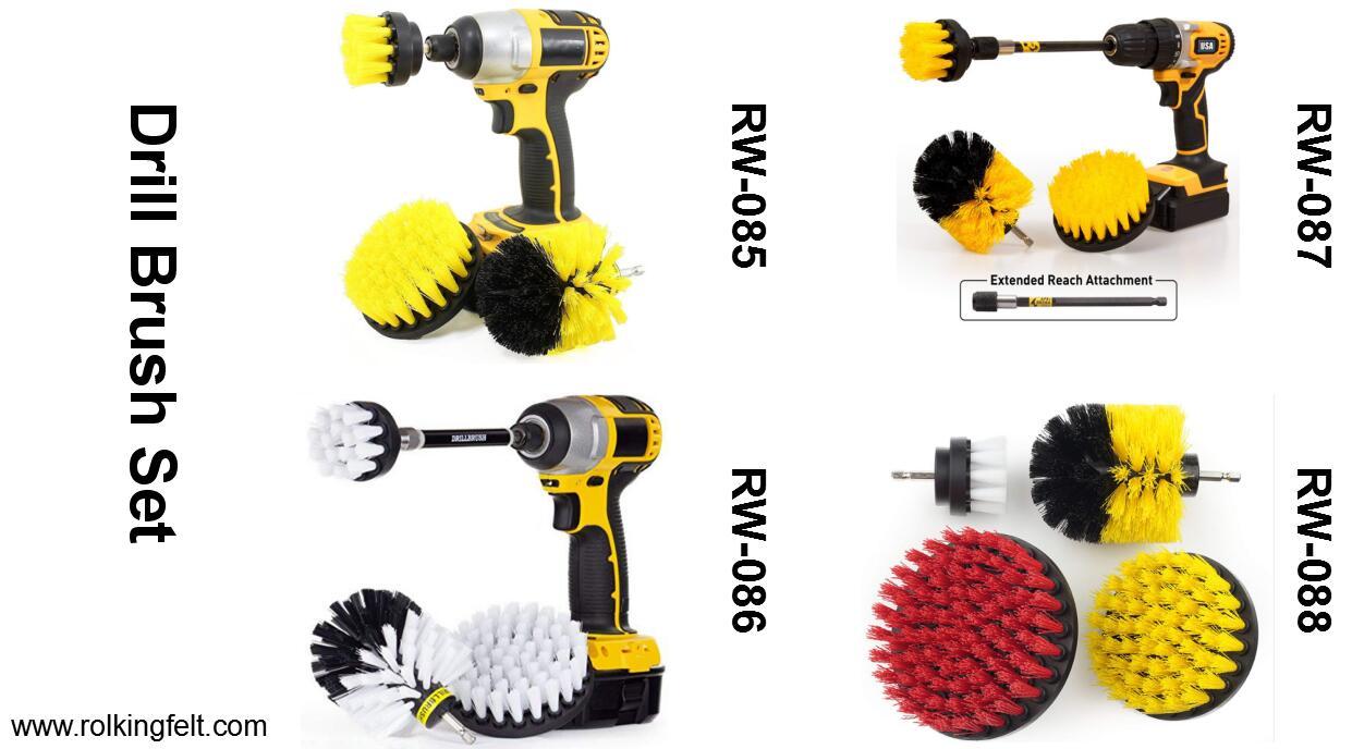 drill brush set 1
