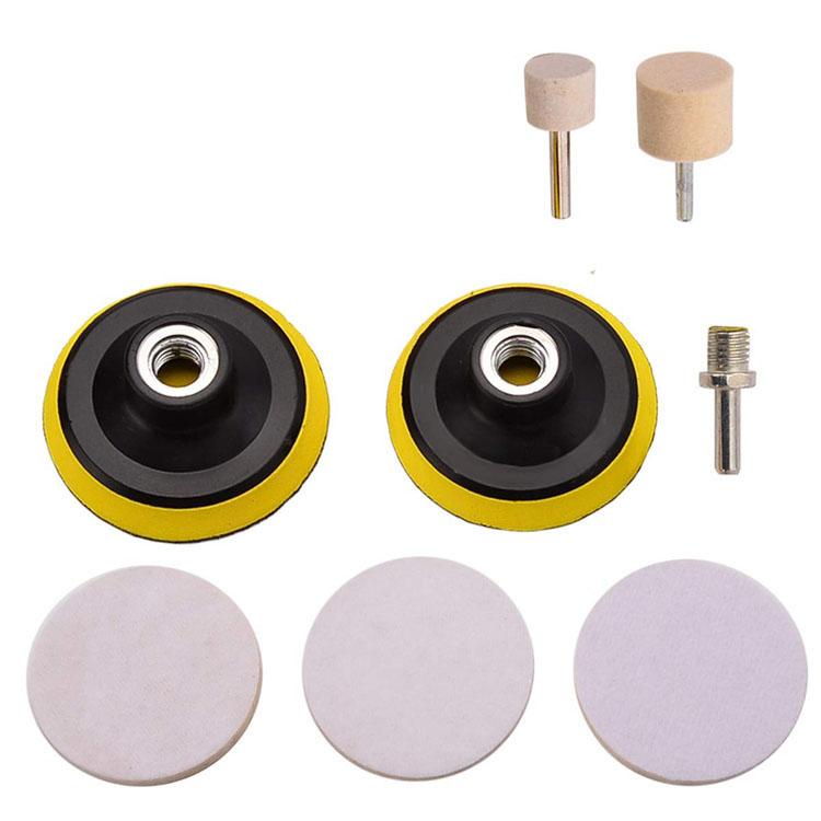 Wool Felt Wheel Abrasive Sets for Glass Polishing Featured Image