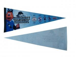Custom felt pennant banner