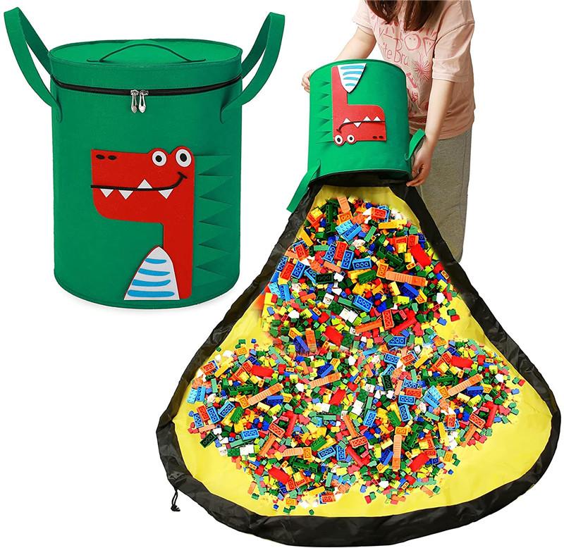 felt storage basket (16)