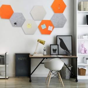 felt Hexagon Board for Photos