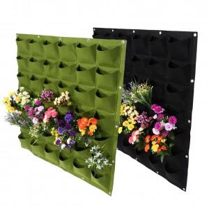 36 pockets Felt vertical planter