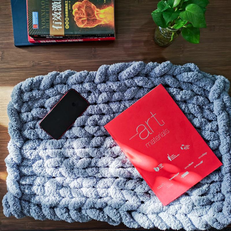 wool chunky blanket  (7)