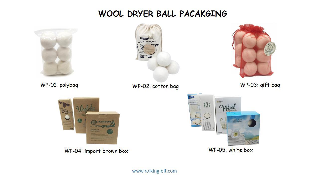 wool dryer ball packaging