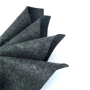Grey Wool Felt